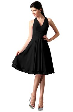 254c3765a33a 2018 Short Black Bridesmaid Dresses Under 100 In Various Styles ...