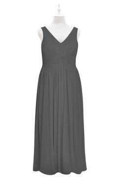 6ea3b972170c1 ... will astonish you definitely! ColsBM Myla Grey Plus Size Bridesmaid  Dress