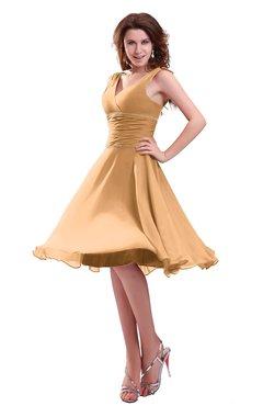 Apricot Cocktail Dresses