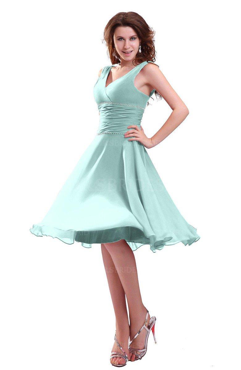 ColsBM Marina Blue Glass Bridesmaid Dresses - ColorsBridesmaid