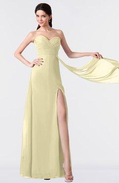 ColsBM Vivian Anise Flower Modern A-line Sleeveless Backless Split-Front Bridesmaid Dresses