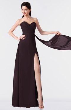 ColsBM Vivian Italian Plum Modern A-line Sleeveless Backless Split-Front Bridesmaid Dresses