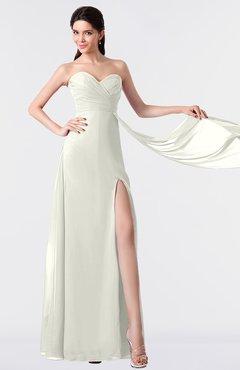 ColsBM Vivian Ivory Modern A-line Sleeveless Backless Split-Front Bridesmaid Dresses