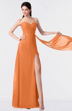 ColsBM Vivian Mango Modern A-line Sleeveless Backless Split-Front Bridesmaid Dresses