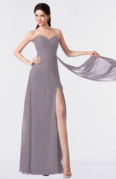 ColsBM Vivian Sea Fog Modern A-line Sleeveless Backless Split-Front Bridesmaid Dresses