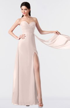 ColsBM Vivian Silver Peony Modern A-line Sleeveless Backless Split-Front Bridesmaid Dresses
