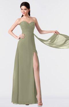 ColsBM Vivian Sponge Modern A-line Sleeveless Backless Split-Front Bridesmaid Dresses