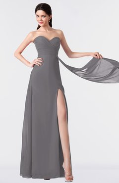 ColsBM Vivian Storm Front Modern A-line Sleeveless Backless Split-Front Bridesmaid Dresses