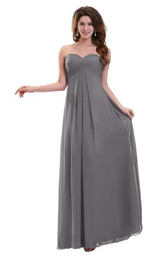 ColsBM Annalee Storm Front Plain Sweetheart Sleeveless Backless Chiffon Floor Length Bridesmaid Dresses