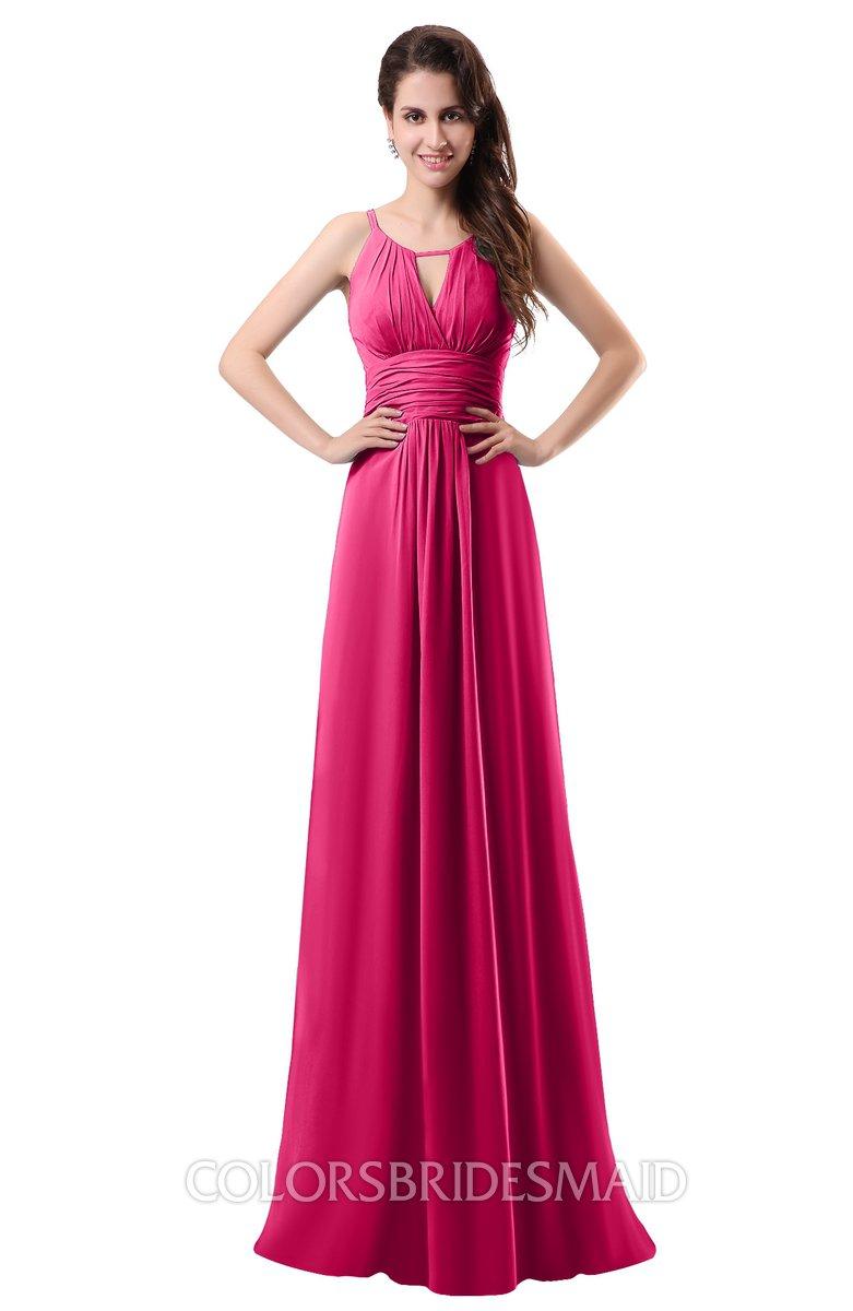 ColsBM Daisy Fuschia Bridesmaid Dresses - ColorsBridesmaid