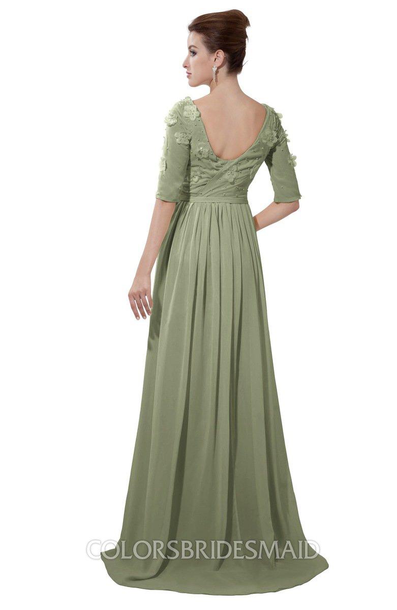 ColsBM Emily Moss Green Bridesmaid Dresses - ColorsBridesmaid