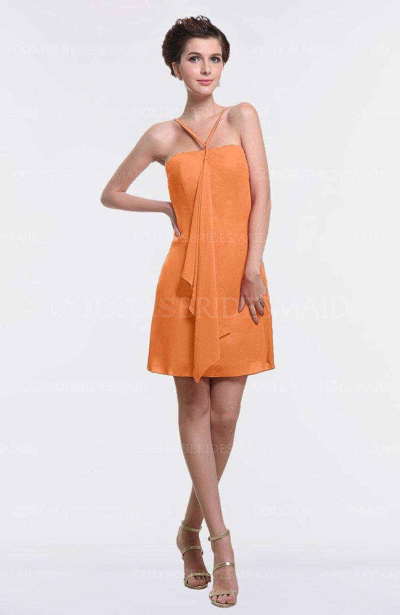 ColsBM Aliya Mango Bridesmaid Dresses - ColorsBridesmaid