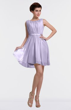 11e4e447fef ColsBM Farrah Light Purple Hawaiian Bateau Sleeveless Zipper Ribbon  Cocktail Dresses