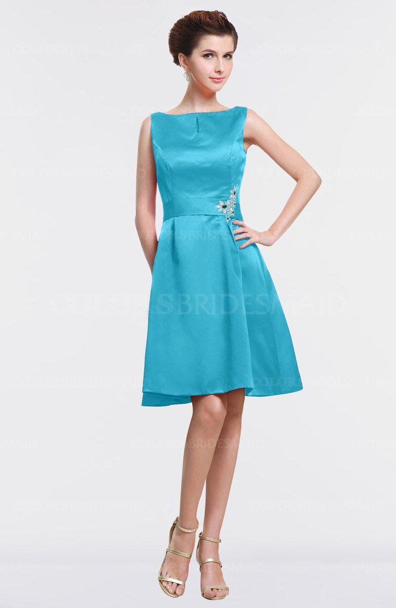 384210c90d ColsBM Gloria - Turquoise Bridesmaid Dresses