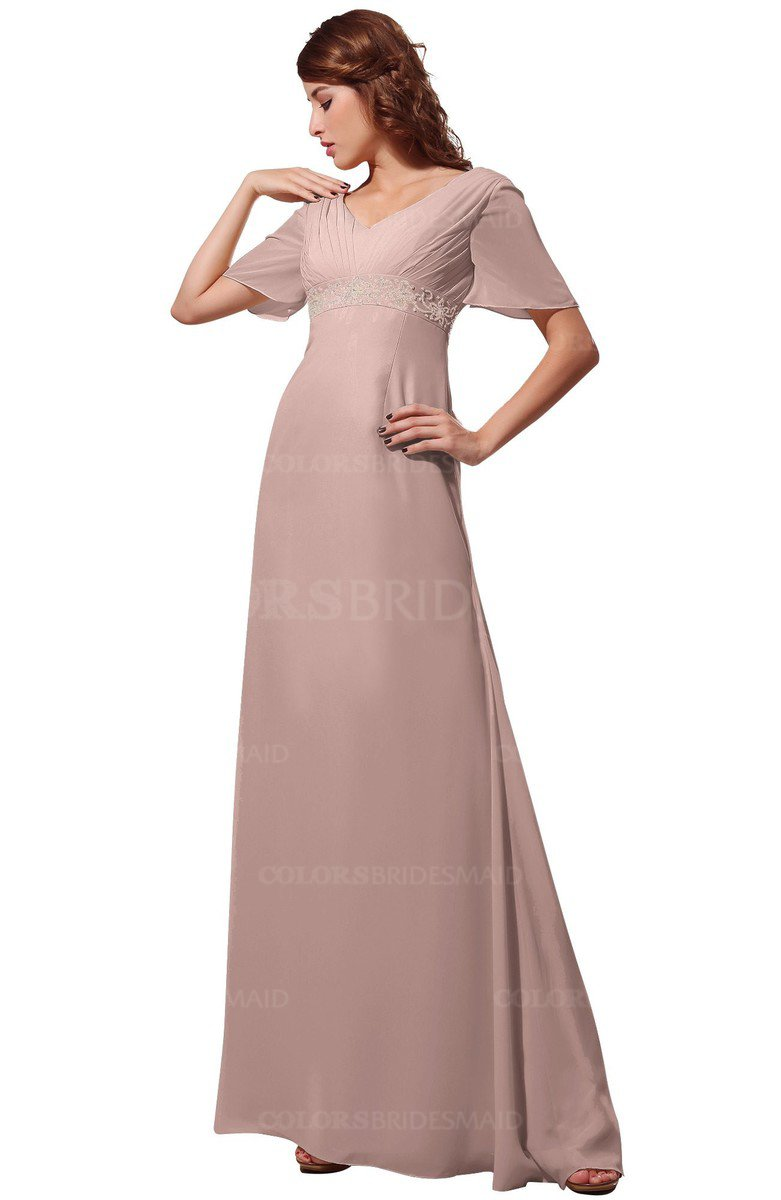 ColsBM Alaia Dusty Rose Bridesmaid Dresses - ColorsBridesmaid