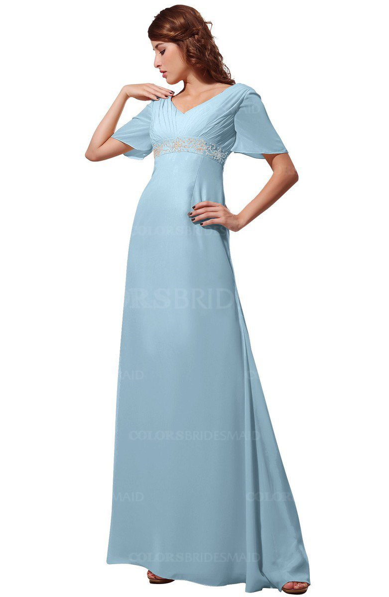 ColsBM Alaia Ice Blue Bridesmaid Dresses - ColorsBridesmaid