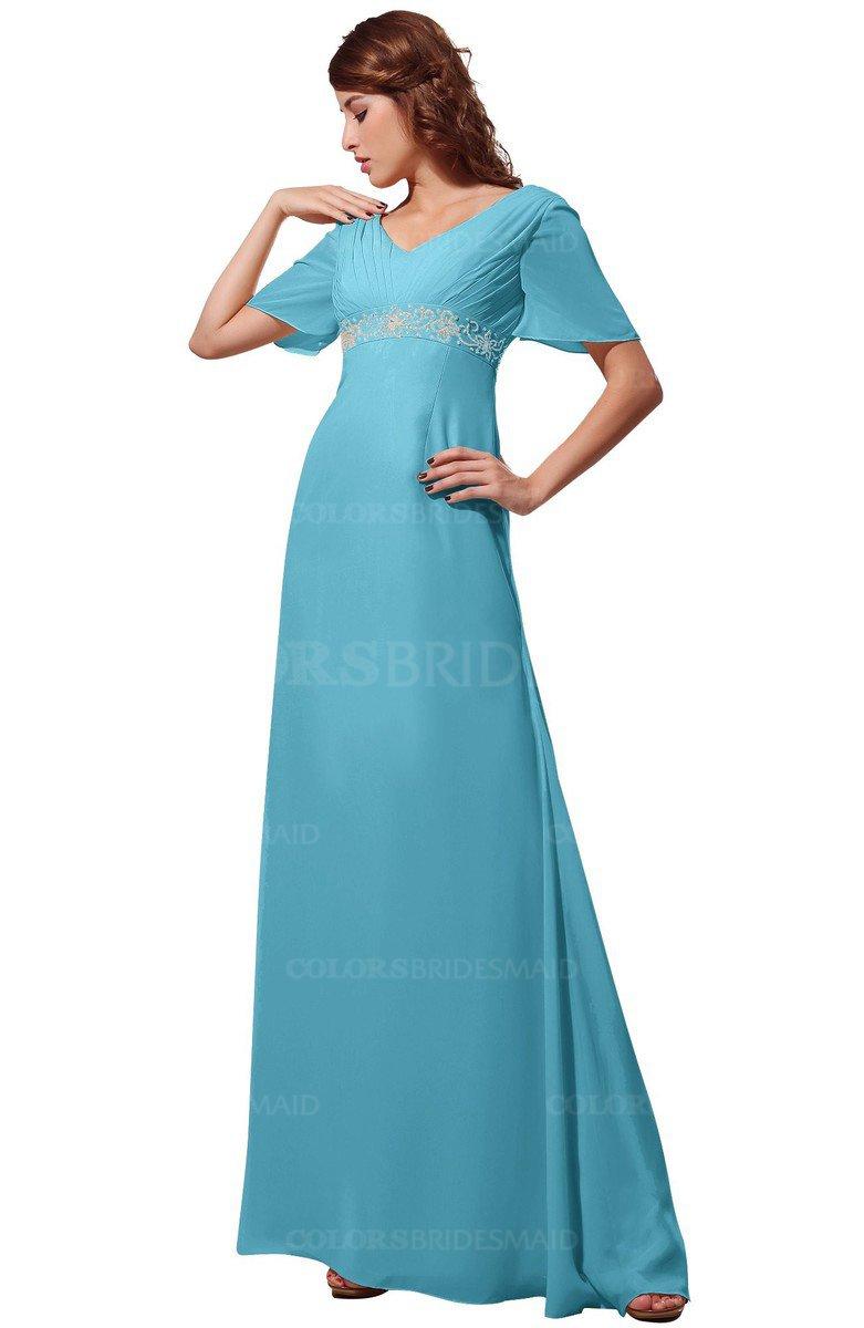 ColsBM Alaia Light Blue Bridesmaid Dresses - ColorsBridesmaid