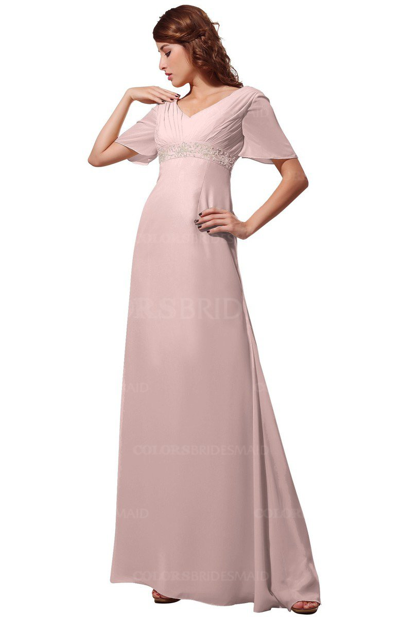 Colsbm Alaia Pastel Pink Bridesmaid Dresses Colorsbridesmaid