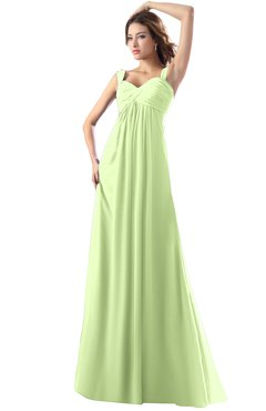 ColsBM Diana Butterfly Modest Empire Thick Straps Zipper Floor Length Ruching Prom Dresses