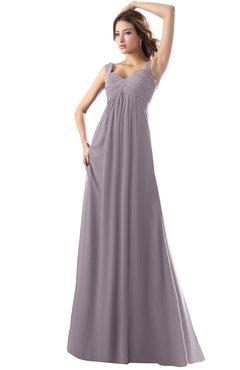 ColsBM Diana Cameo Modest Empire Thick Straps Zipper Floor Length Ruching Prom Dresses
