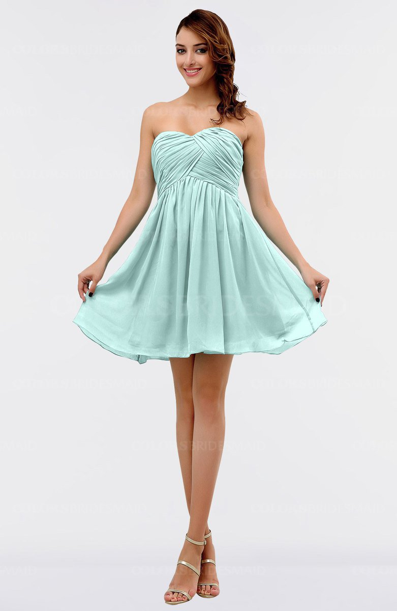 ColsBM Amani Blue Glass Bridesmaid Dresses - ColorsBridesmaid