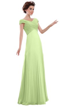 ColsBM Elise Butterfly Casual V-neck Zipper Chiffon Pleated Bridesmaid Dresses