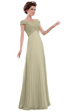 ColsBM Elise Putty Casual V-neck Zipper Chiffon Pleated Bridesmaid Dresses