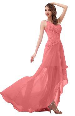 Beryl salmon color dress