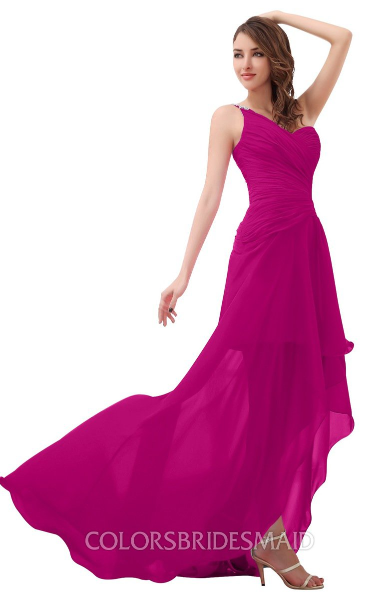 ColsBM Paige Hot Pink Bridesmaid Dresses - ColorsBridesmaid