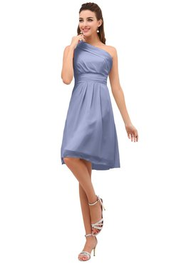 2fbc727746c ColsBM Amber Lavender Cute A-line One Shoulder Sleeveless Chiffon  Bridesmaid Dresses