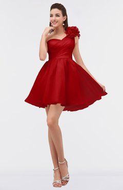 5994088e88 ColsBM Itzel(90 colors). List Price  US 187.00. Special Offer  US 83.99. ColsBM  Rose Chinese Red Modest A-line Scoop Zip up Knee Length Beaded Bridesmaid  ...