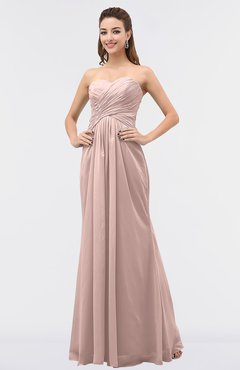 Rose Sweetheart Chiffon Dress