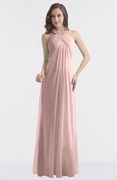 725063bb2705 ColsBM Maeve Blush Pink Classic A-line Halter Backless Floor Length  Bridesmaid Dresses