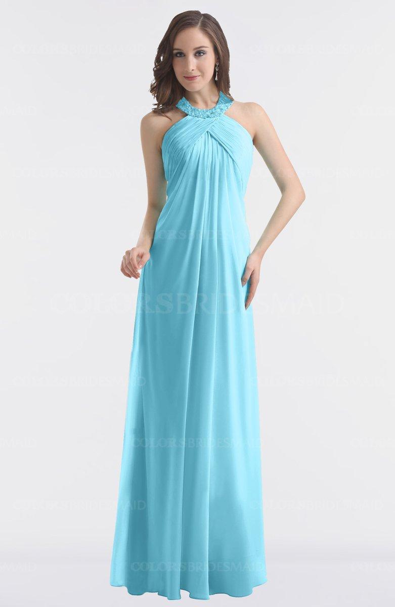 Light Blue Bridesmaid Dresses ColsBM Maeve Li...