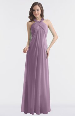 ColsBM Maeve Valerian Classic A-line Halter Backless Floor Length Bridesmaid Dresses