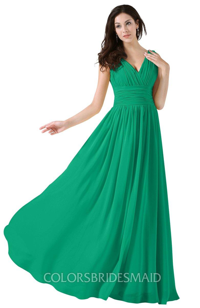 ColsBM Alana Pepper Green Bridesmaid Dresses - ColorsBridesmaid