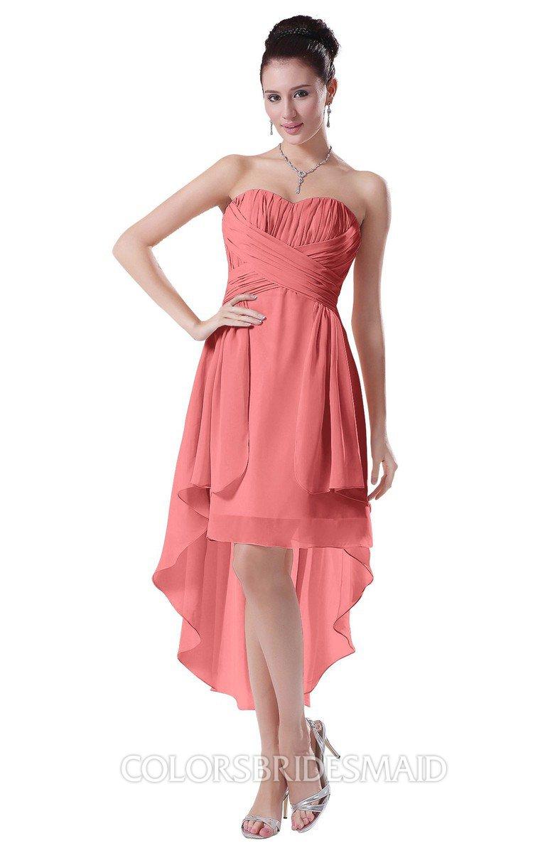 d6a0c29f396 ColsBM Victoria - Coral Bridesmaid Dresses