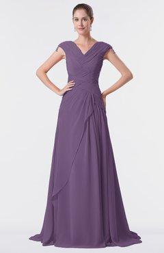 Color dresses eggplant