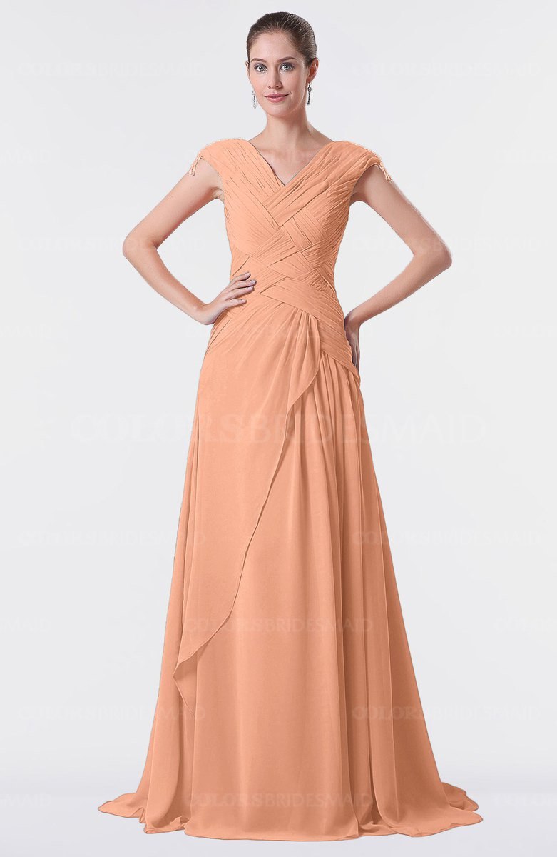 ColsBM Valerie Salmon Bridesmaid Dresses - ColorsBridesmaid