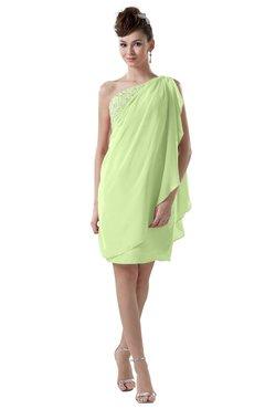 ColsBM Layla Butterfly Informal Sheath Backless Chiffon Knee Length Paillette Homecoming Dresses