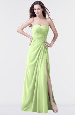 ColsBM Mary Butterfly Elegant A-line Sweetheart Sleeveless Floor Length Pleated Bridesmaid Dresses