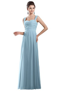 Bridesmaid Dresses for PIN Ice Blue color Pleated ...