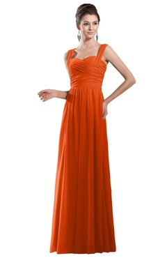 Bridesmaid Dresses for PIN Tangerine color -colorsbridesmaid.com
