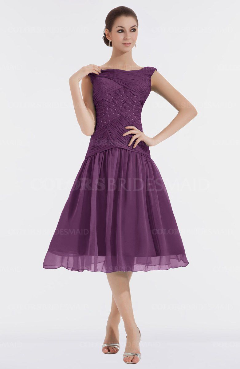 ColsBM Alissa Grape Juice Bridesmaid Dresses - ColorsBridesmaid