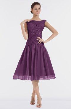60805e1f209 ColsBM Alissa Grape Juice Cute A-line Sleeveless Knee Length Ruching  Bridesmaid Dresses