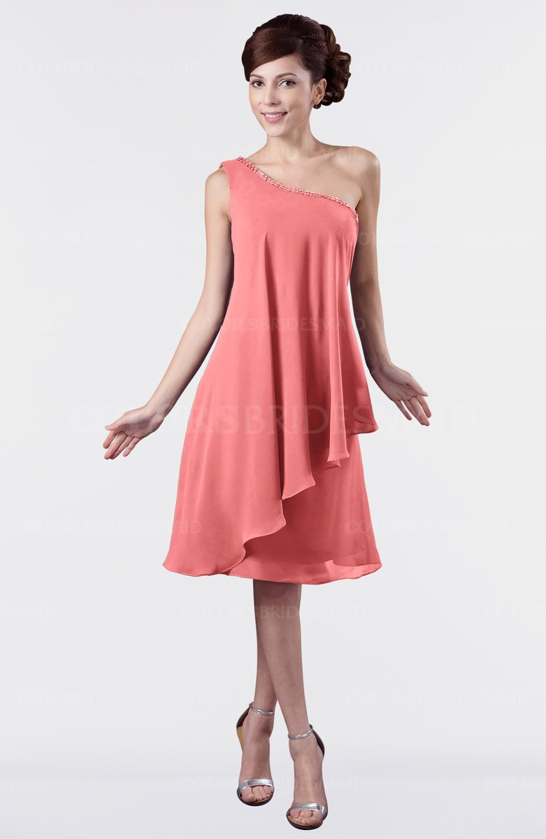 ColsBM Mallory - Coral Bridesmaid Dresses