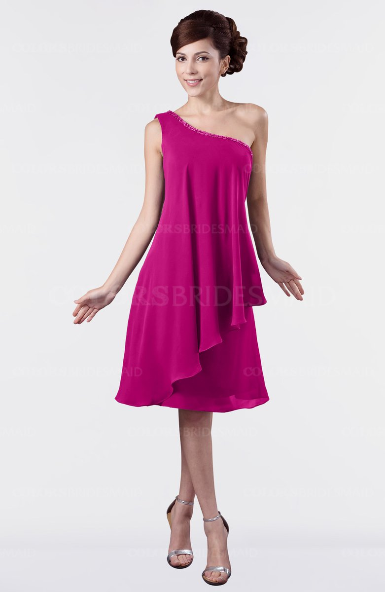 ColsBM Mallory Hot Pink Bridesmaid Dresses - ColorsBridesmaid