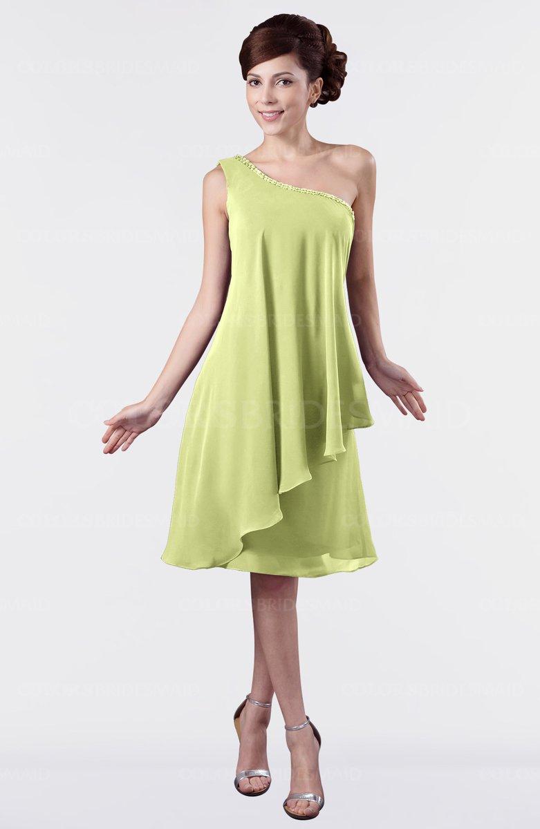 ColsBM Mallory - Lime Green Bridesmaid Dresses