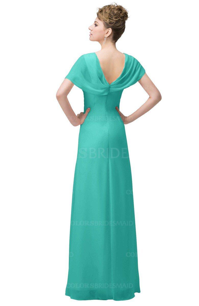 ColsBM Luna - Blue Turquoise Bridesmaid Dresses