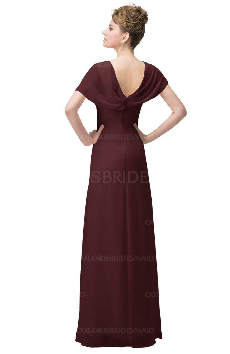 ColsBM Luna - Burgundy Bridesmaid Dresses